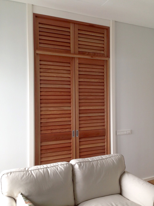 Adjustable Timber Shutters