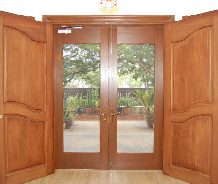 Double Leaf Screen Door (Inside View)