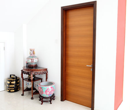 Veneer Inlay Door